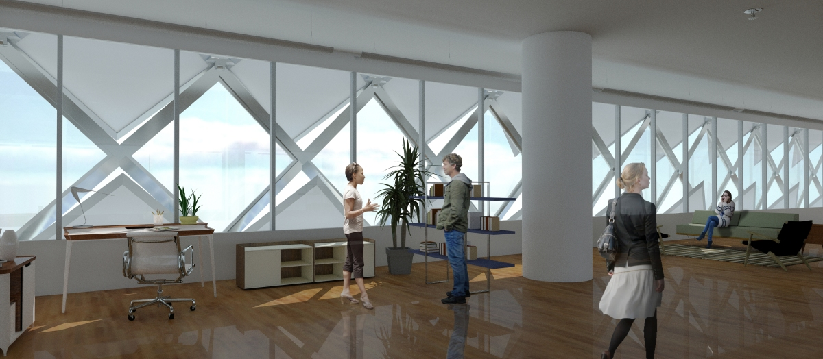 as interior render